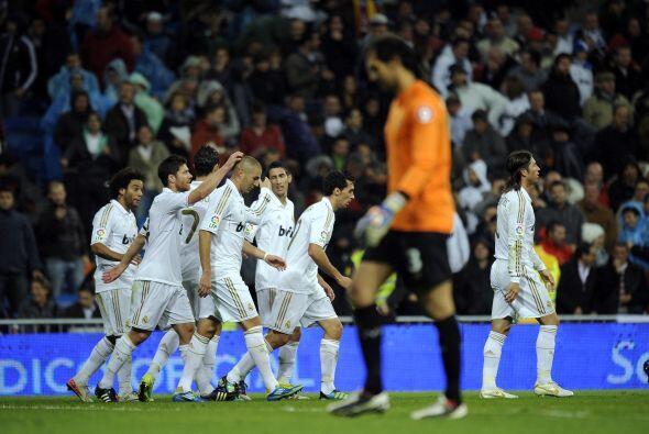 Se esperaba una feria de goles blancos.
