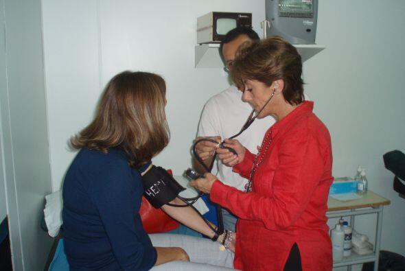 Ambos pacientes fueron tratados en la clínica del doctor Fernández Viña....
