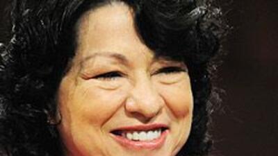 Maria Elena Salinas reflexiona sobre Sonia Sotomayor, una 'latina sabia'...
