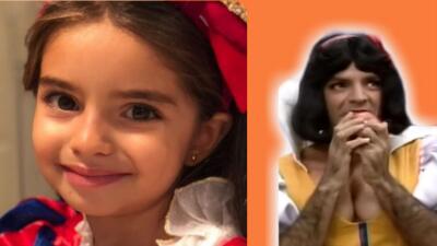 Eugenio Derbez y Aitana se convierten en la misma princesa