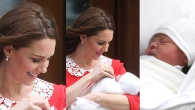 Estas son las primeras fotos del nuevo bebé de Kate Middleton y el  príncipe William