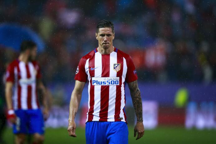La tardanza en la renovación de Fernando Torres con el Atlético de Madri...