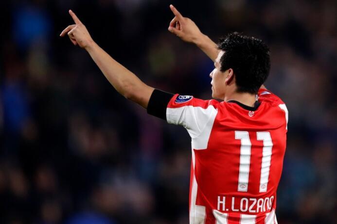 (Eredivisie) PSV [4]-0 Willem II: gran actuación de Hirving Lozano con e...