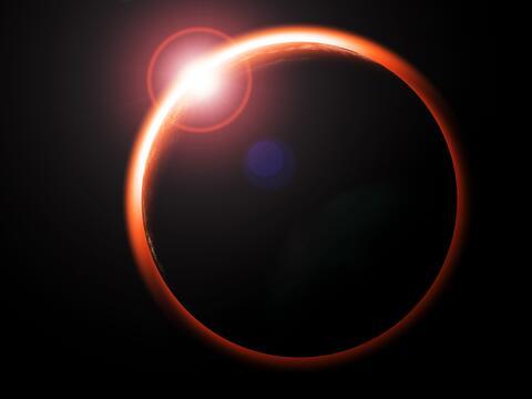 El tercer eclipse penumbral de Luna