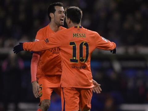 El Barcelona logró una goleada como visitante teniendo como estre...