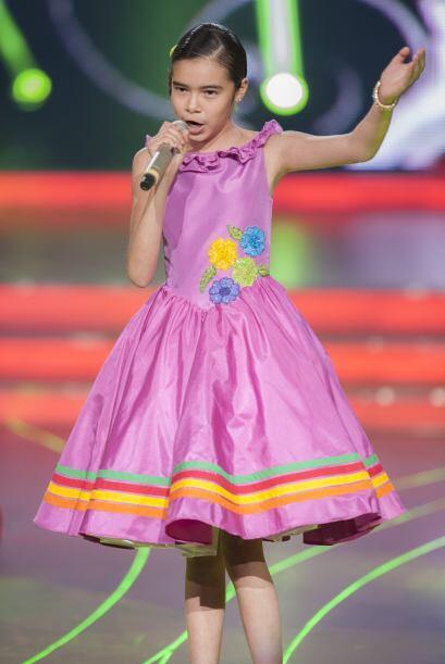 Tal vez el color preferido de Irlanda es el rosa, pudimos verla vestida...