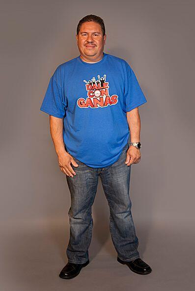 Ignacio tiene 44 años y se desempeña como chofer en la Cruz Roja America...