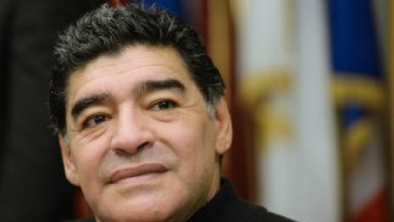 El exfutbolista argentinoDiego Armando Maradona.