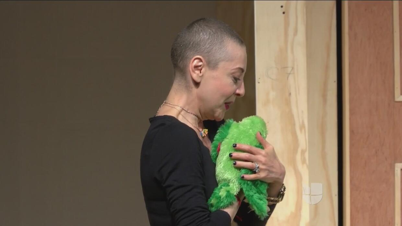 Edith Gonzáles regresó a los escenarios después de su dura lucha contra...