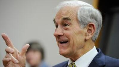 Ron Paul es el lider en Iowa.