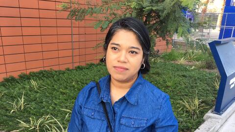 Veronica Lagunas, 39, says she prefers to move her family to Canada inst...