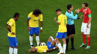 Un artista de las caídas: Neymar Jr en el Mundial Rusia 2018