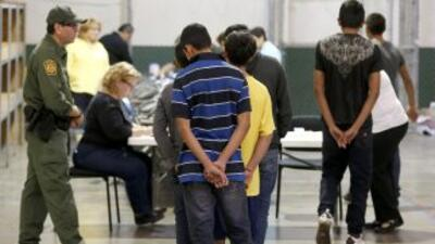 La mayoría de los menores centroamericanos que cruzan solos la frontera...