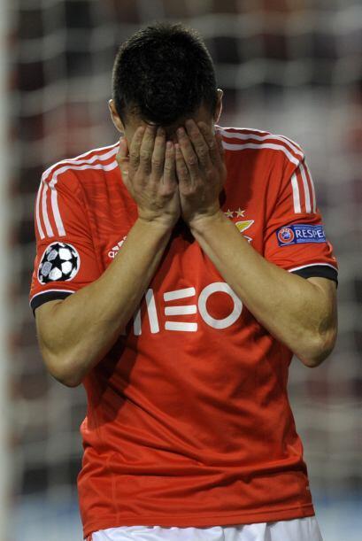 Pero ni el triunfo final del Benfica le bastó para calificar a los octav...