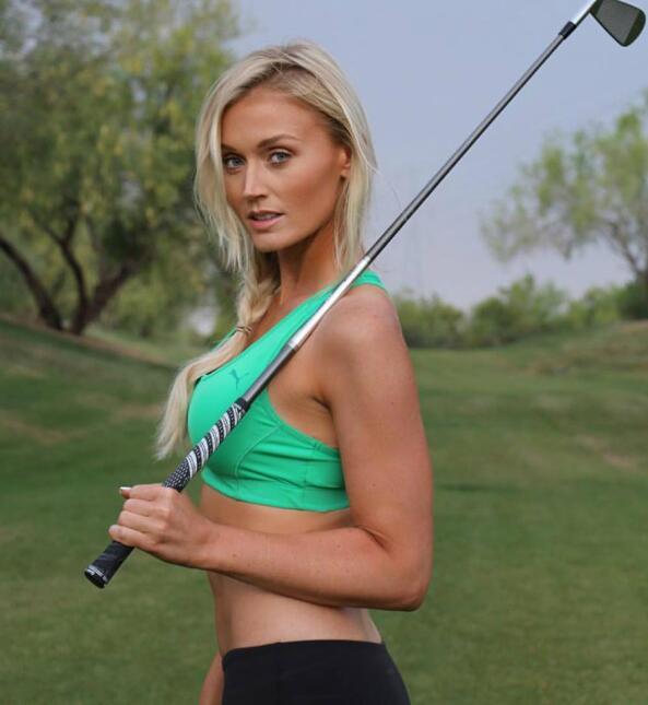 Blair es una bella golfista y modelo estadounidense y es considerada una...