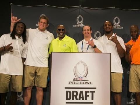 Por primera vez los rosters de los equipos del Pro Bowl se determinaron...