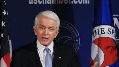 El presidente de la Cámara de Comercio de Estados Unidos, Tom Donohue.