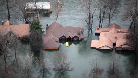 Al menos 24 muertos dejan las inundaciones en la cuenca del Mississippi...
