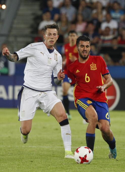 Luego del subcampeonato en el Europeo Sub-21, Dani Ceballos llamó la ate...