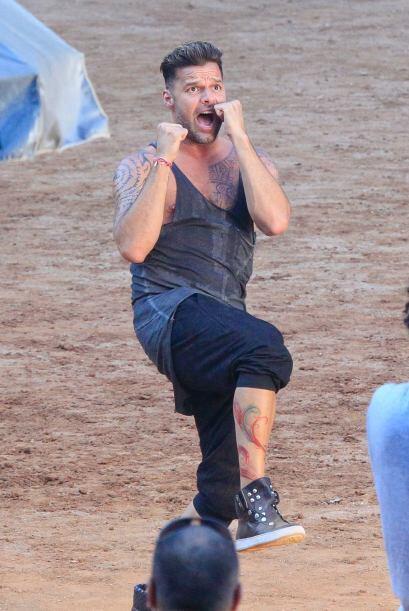 """Ricky grabó su nuevo video musical """"Vida"""", que forma parte del soundtrac..."""