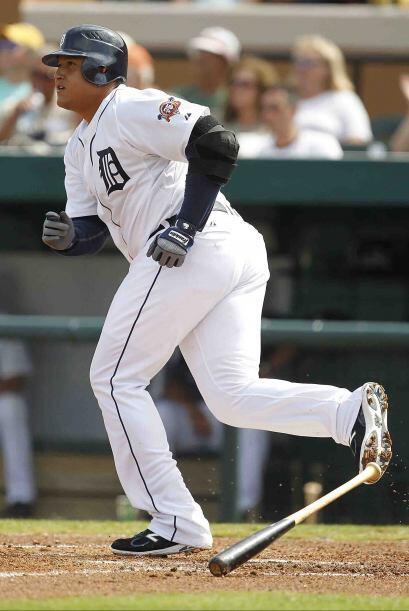 In 2010, el venezolano Miguel Cabrera de los Tigers de Detroit coqueteó...