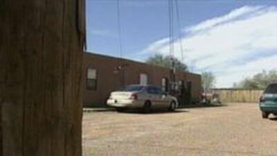 Casa en Tucson donde ocurrio el incidente