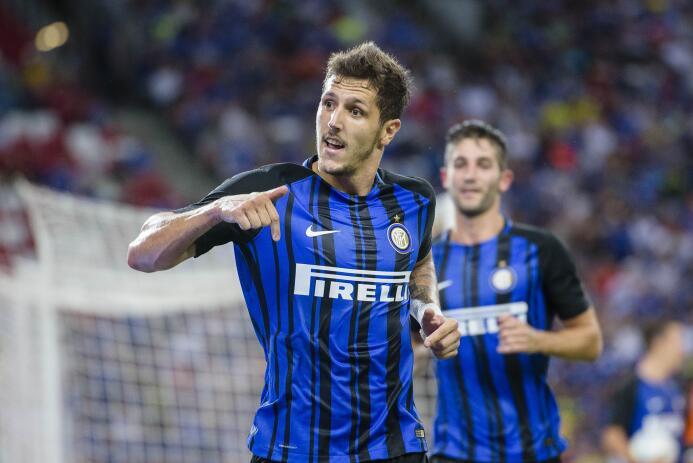 Stevan Jovetic regresó al Inter tras su préstamo en el Sevilla y, aunque...