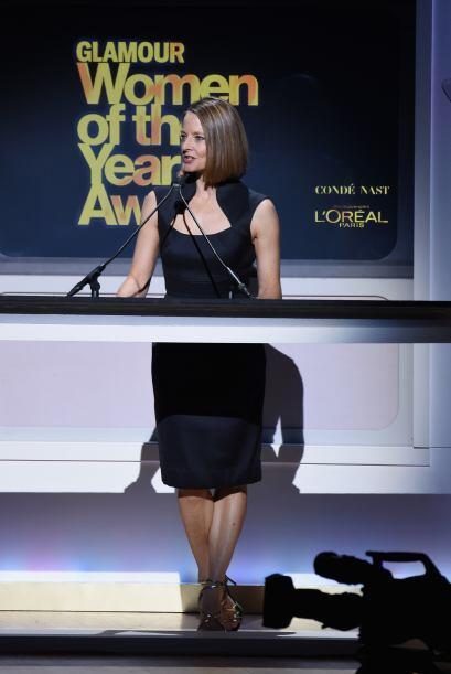Jodie Foster fue una de las famosas que también fungió como presentadora.