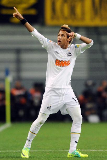 Las actuaciones de Neymar han sido más productivas con Santos que con la...