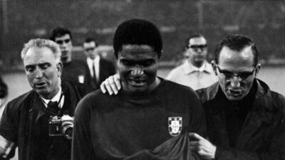 Historias de Mundiales: Eusebio, leyenda de Portugal antes de Figo y Cristiano Ronaldo