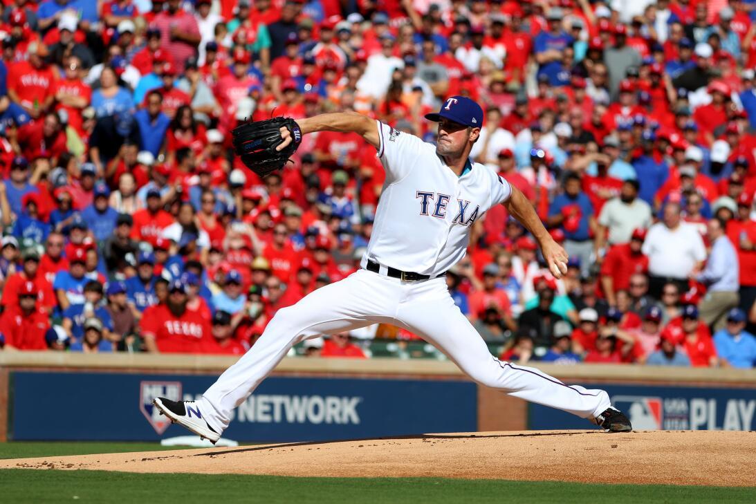 Postales de postemporada del béisbol de Grandes Ligas GettyImages-612980...