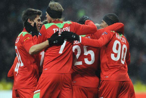 Victoria final de 2-1 para el Lokomotiv.