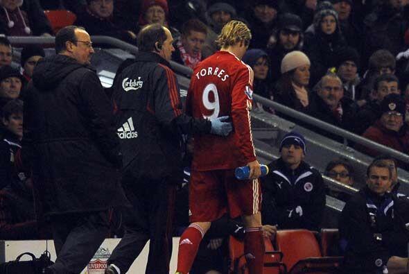 El ambiente de fiesta comenzó a cambiar con una nueva lesión de Fernando...