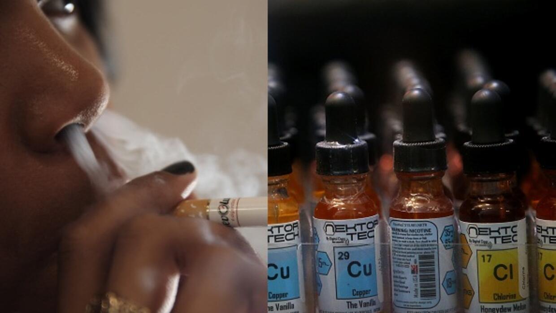 La nicotina líquida es altamente tóxica