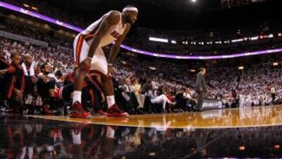El Miami Heat ganó el cuarto partido de la semifinal de la Conferencia d...