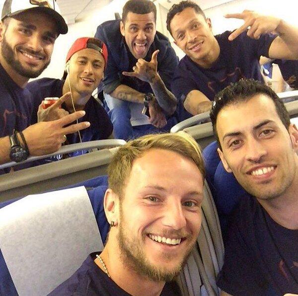Barcelona celebración