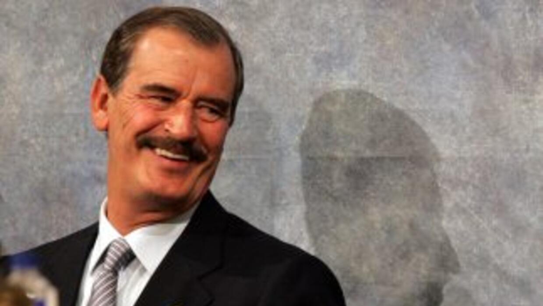 """El expresidente Vicente Fox dice que él lo buscó pero """"fue hasta ahora q..."""