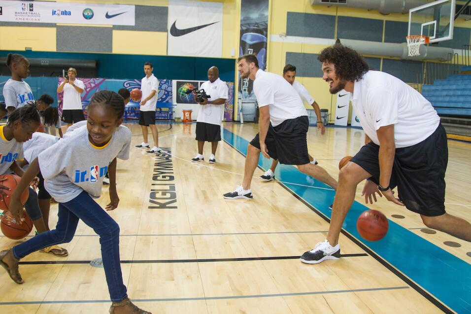 Basketball Without Borders (BWB) Americas 2017 abrió sus puertas oficial...