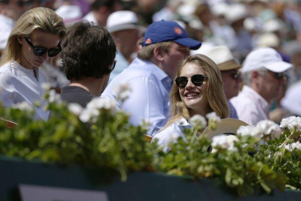 Otro vistazo a la bella Vodianova.