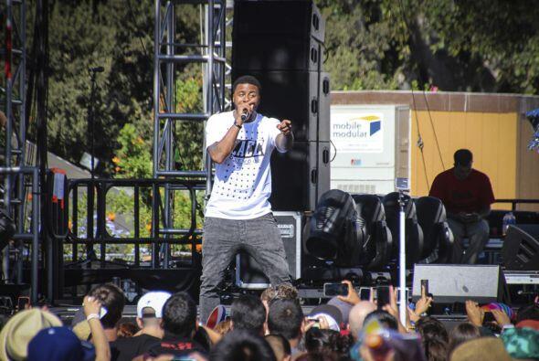 """El rapero originario de california es muy conocido por su éxito """"Gas Ped..."""