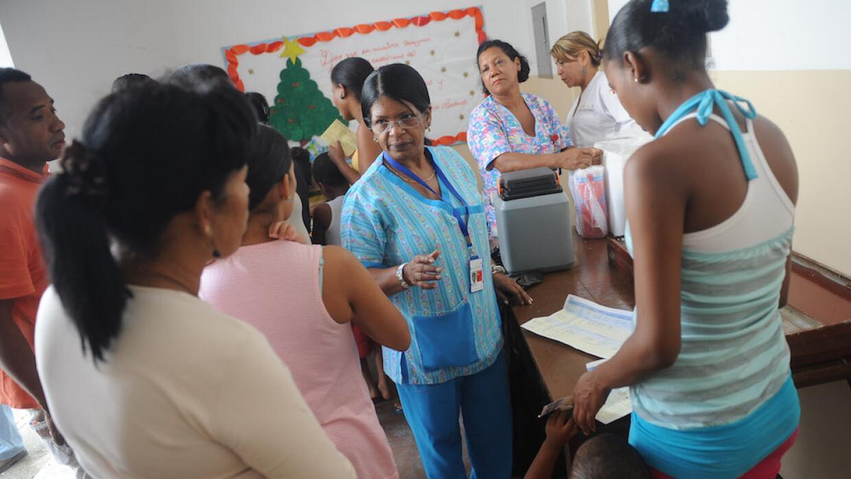 Crisis sanitaria en Venezuela