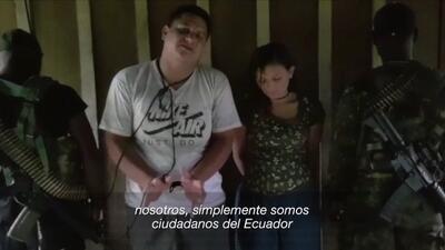 Captura del video cedido por la Secretaría de Comunicación de Ecuador (S...