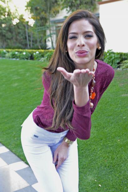 Una de las chicas que se postula como una fuerte candidata es Viviana Or...