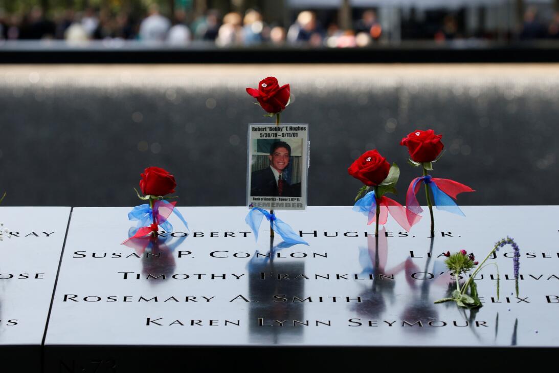 Nueva York llora una vez más a las víctimas de los atentados del 11 de s...