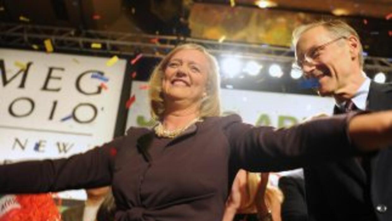 Meg Whitman, candidata a gobernadora de California, gastó $104 millones...