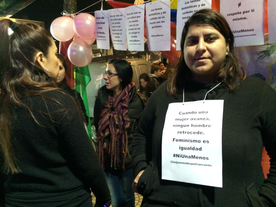 Muchos de los reclamos giran en torno a la estigmatización de las mujere...
