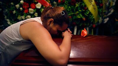 La emotiva despedida del pelotero Oscar Taveras