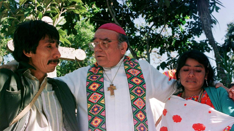 Samuel Ruiz, Obispo de Chiapas.