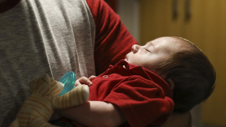 Cinco días antes de que él naciera, un procedimiento quirúrgico fue real...
