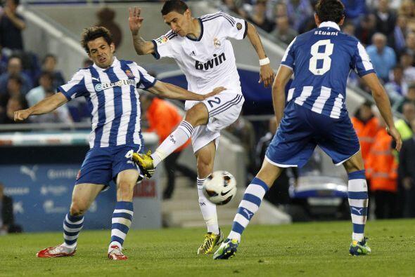 El Real Madrid siguió intentando para no dejar el campeonato en el camino.